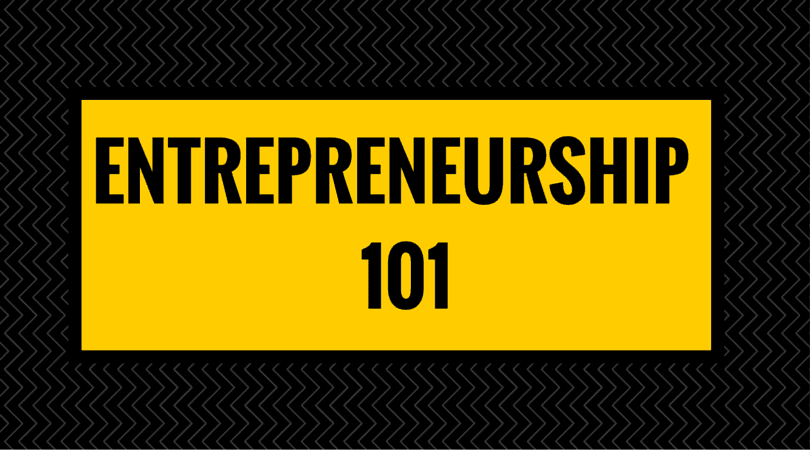 Entrepreneurship-101