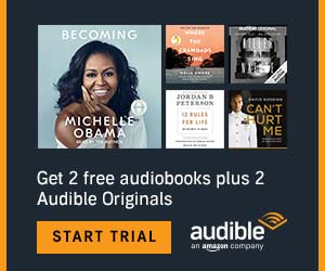 Get free audiobooks! - Audible