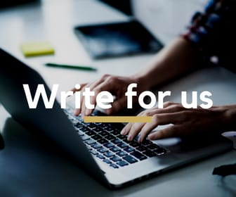 Join the team! - Write for us