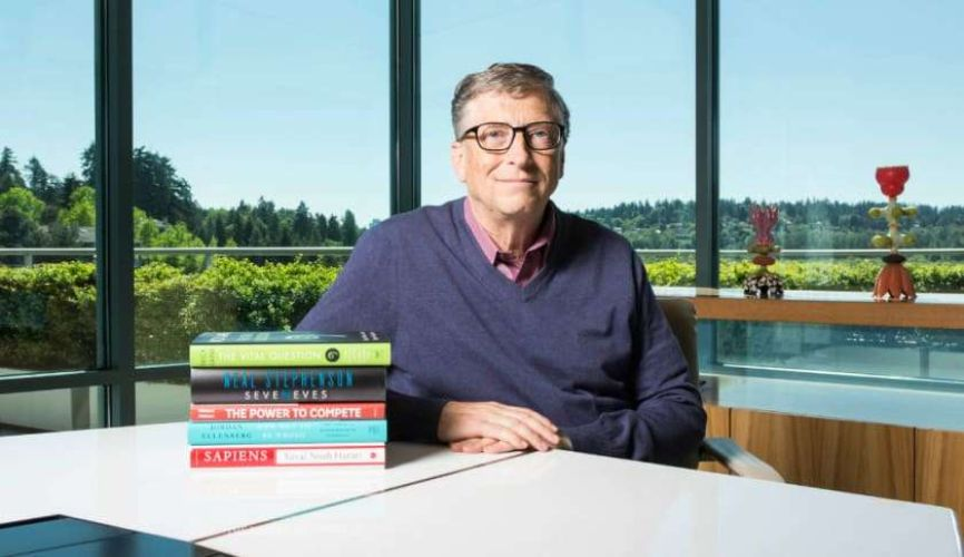 5 Books From Bill Gates
