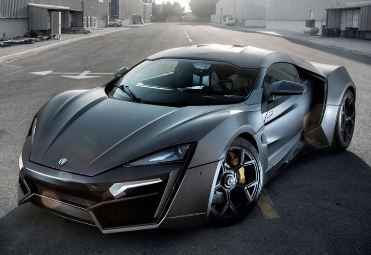Top  Most Expensive Cars